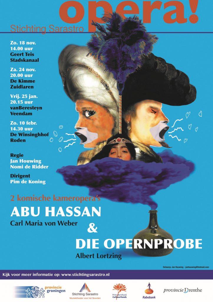 Abu Hassan en Opernprobe @ Theater VanBeresteyn | Veendam | Groningen | Nederland