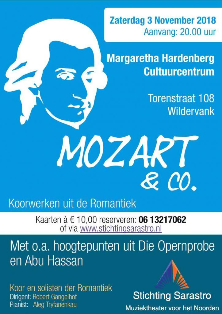 Concert Mozart & Co @ Margaretha Hardenbergh Cultuurcentrum | Wildervank | Groningen | Nederland