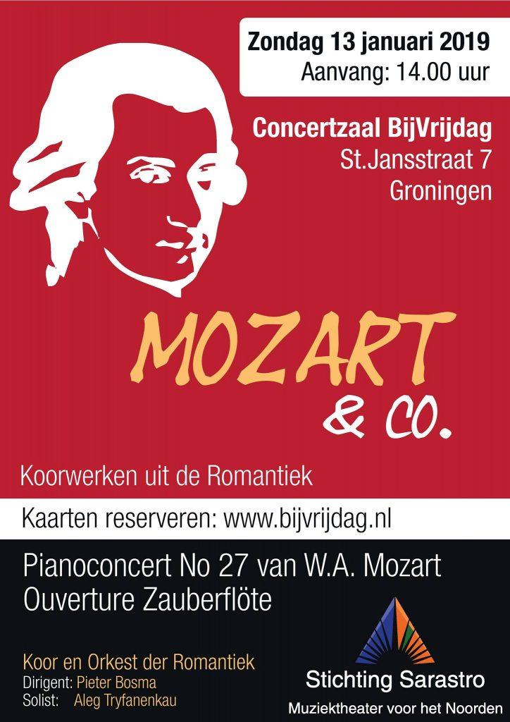 Concert Mozart & Co @ Bij Vrijdag | Groningen | Groningen | Nederland
